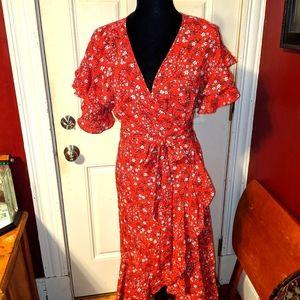 4/$20 Max Edition Wrap Around dress